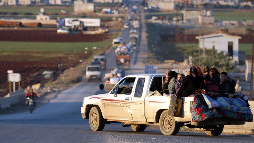 Tens Of Thousands Flee Fearing Fresh Violence In Syrias