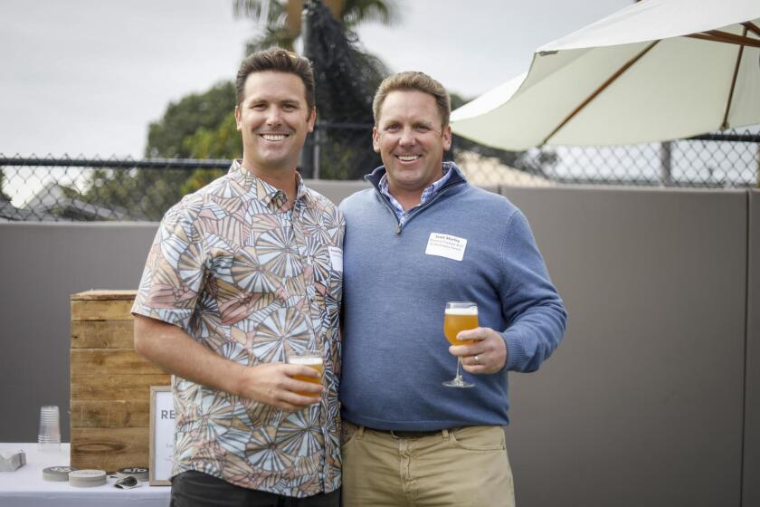 Brothers attending the event: Russell and Scott Murfey