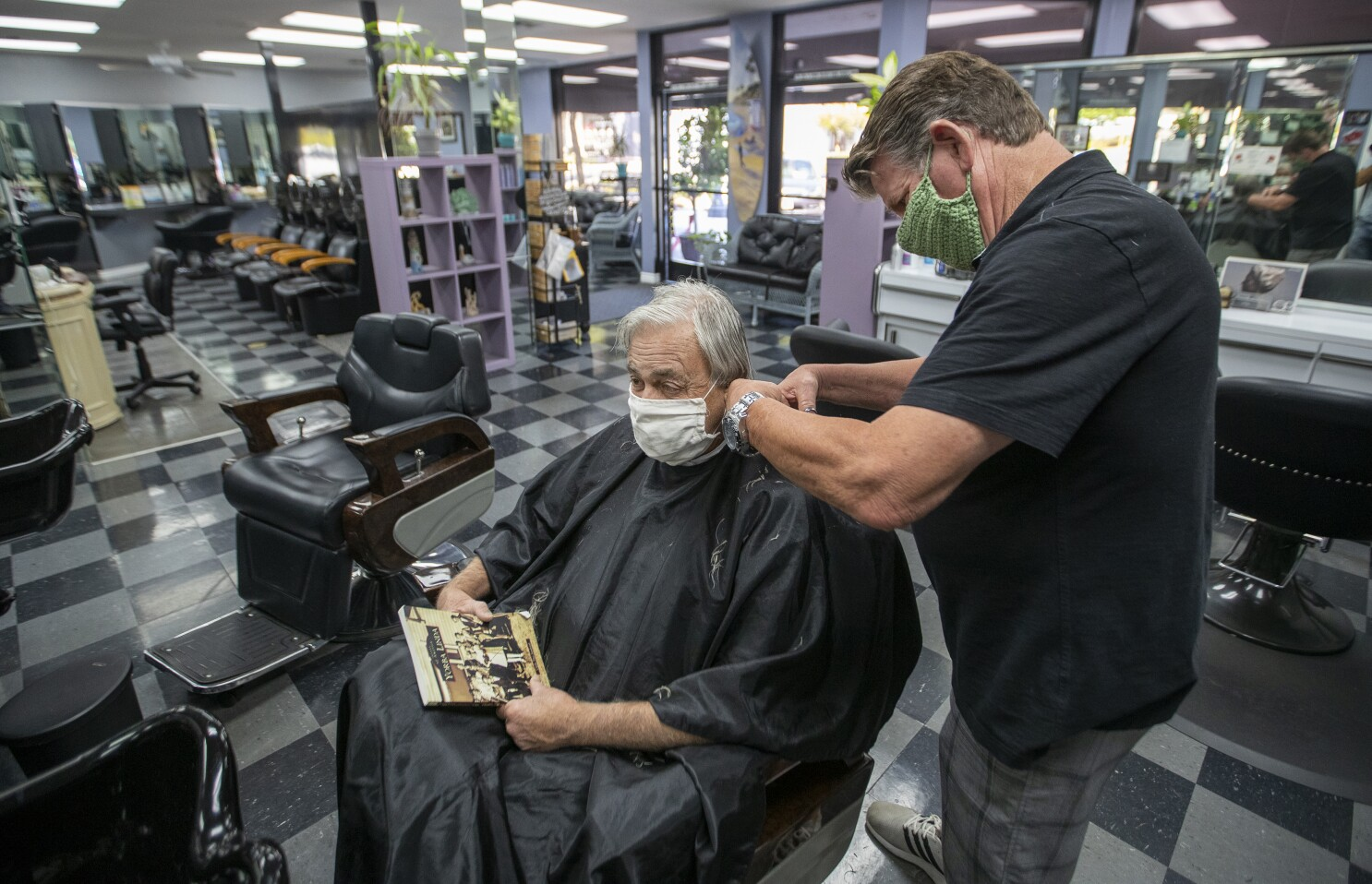 Essential California Some Of You Can Get A Haircut Today Los Angeles Times
