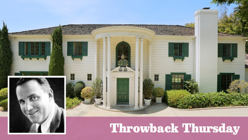 The Colonial-style home, on the market for $35 million, was built for filmmaker Allan Dwan in the 1930s.