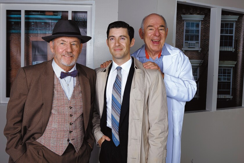 James Sutorius, Bryan Banville and Lenny Wolpe star in 'The Sunshine Boys' with performances through Nov. 24, 2019 at North Coast Repertory Theatre, 987 Lomas Santa Fe Drive, Suite D, Solana Beach. (858) 481-1055. northcoastrep.org