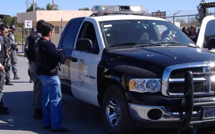 El ruido de un tiroteo sembró hoy el pánico en un evento encabezado por el presidente municipal de Nuevo Laredo, en el estado de Tamaulipas (noreste del país), aunque no se reportaron personas heridas. EFE/ARCHIVO
