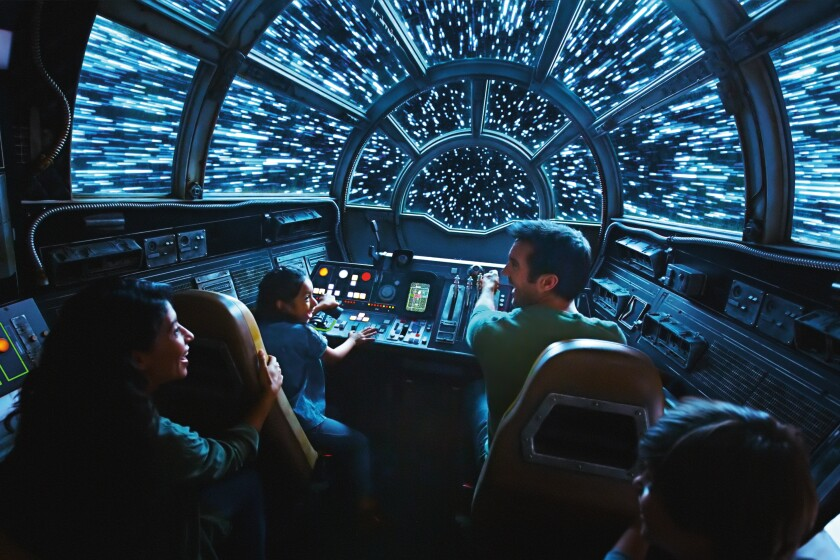 A behind-the-scenes tour of a few of the rides at Star Wars: Galaxy's Edge at Disneyland - The San Diego Union-Tribune