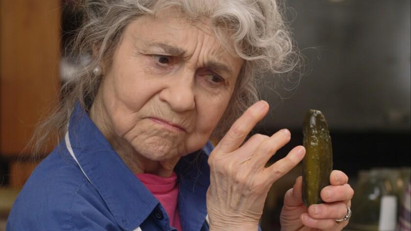 "Lynn Cohen in the movie ""Pickle Recipe"""