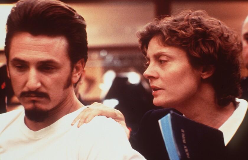 """Sean Penn and Susan Sarandon in """"Dead Man Walking"""" (1995)."""