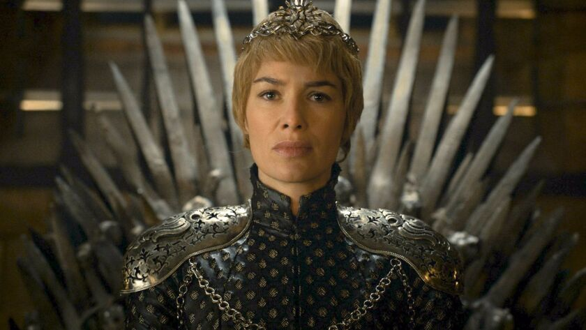 """Lena Headey in a scene from """"Game of Thrones."""""""