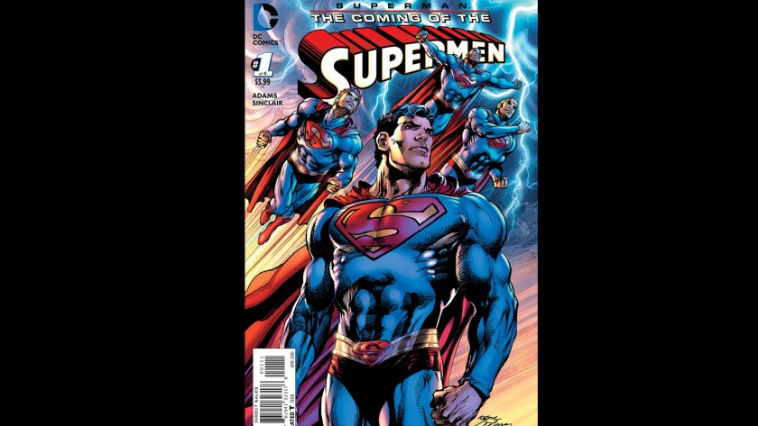 """""""The Coming of the Supermen"""" #1"""