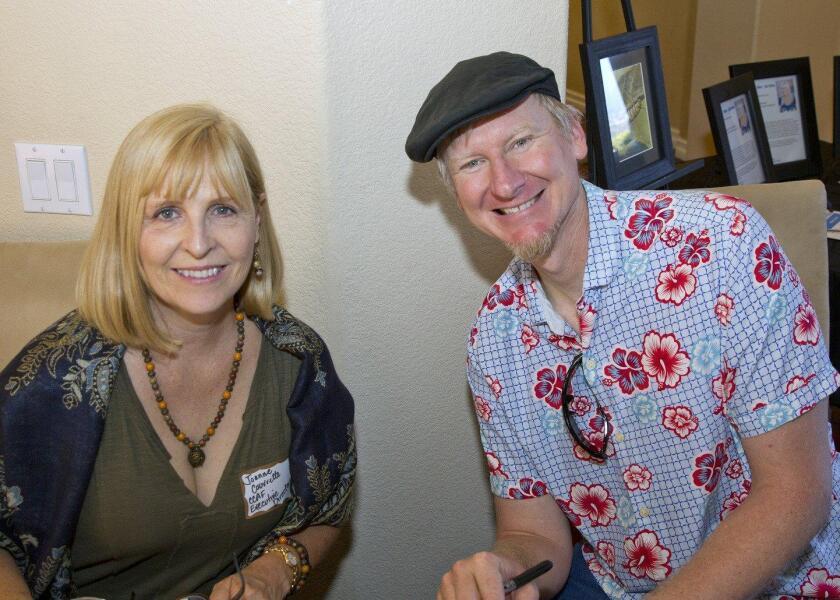 CCA Foundation Exec Dir Joanne Couvrette with Dan Frazier