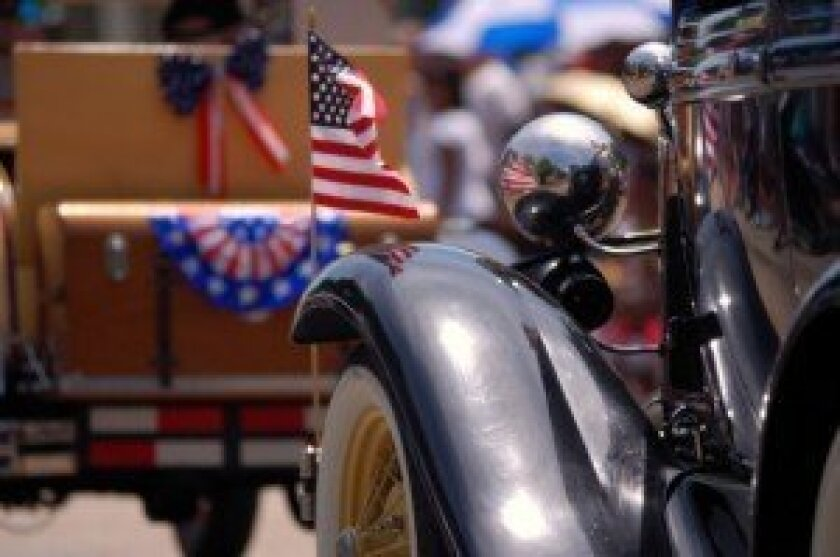 The 4th of July Parade is just one of the attractions in Rancho Santa Fe.