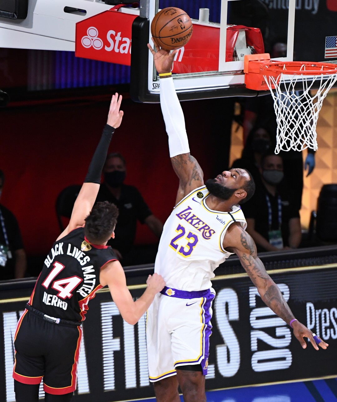 Photos: Lakers vs. Heat Game 3 of NBA Finals - Los Angeles ...