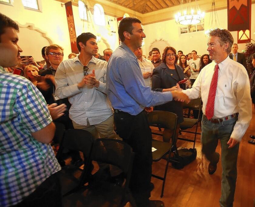 Sen. Rand Paul at UC Berkeley