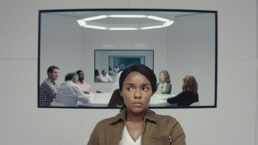 """Janelle Monáe in a scene from """"Homecoming."""""""