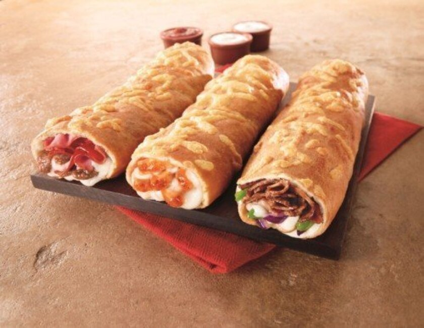 Pizza Hut has launched the P'Zolo, a new take on the sub sandwich.