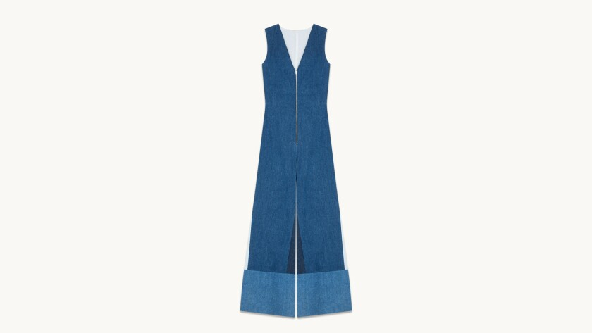 A piece from Maje's denim capsule collection