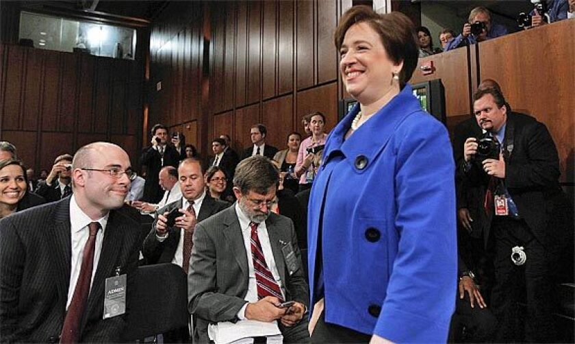 """Justice Elena Kagan wrote that """"Bridgegate"""" was an example of corruption but not a federal crime."""