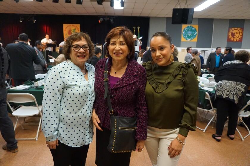 Josephine Talamantez, Chula Vista Mayor Mary Casillas Salas, Carolina Santana