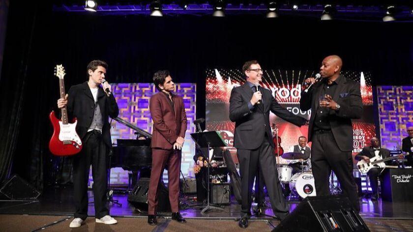 John Mayer, John Stamos, Bob Saget, Dave Chappelle