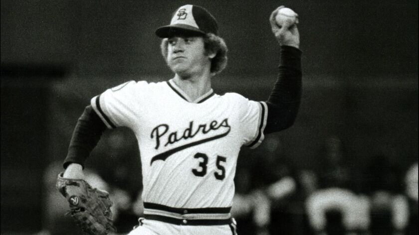 Randy Jones |Padres pitcher Randy Jones throws the ball in the mid-1970s. Union-Tribune file photo