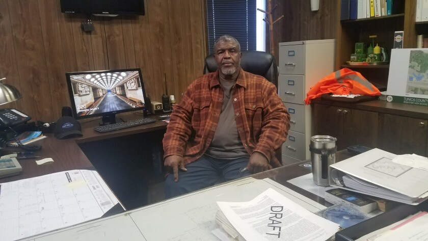Joe Eddie Hawkins for story on Tunica, Miss.