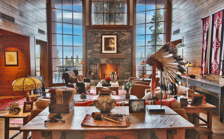Jeffrey Katzenerg's Utah cabin