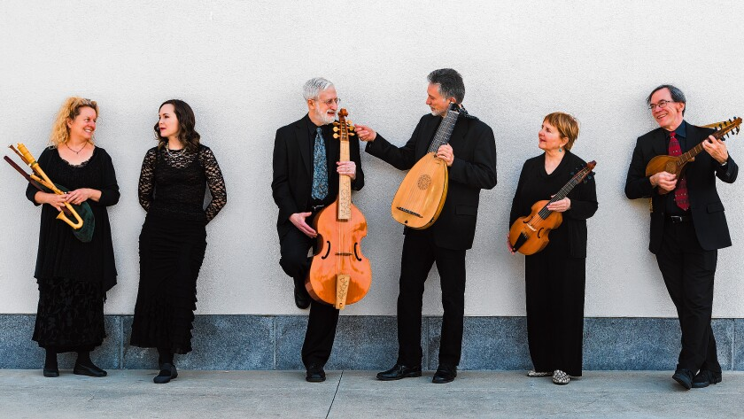 Baltimore Consort performs Dec. 14, 2019 at St. James by-the-Sea Episcopal Church in La Jolla.