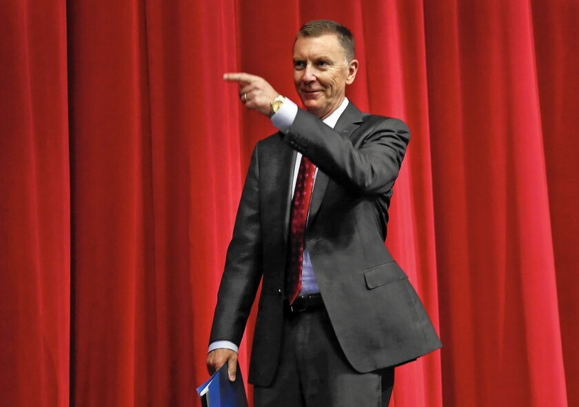 L.A. Unified student test scores soared and graduation rates rose under Supt. John Deasy, but changing circumstances and his leadership style left him with few allies in the end.