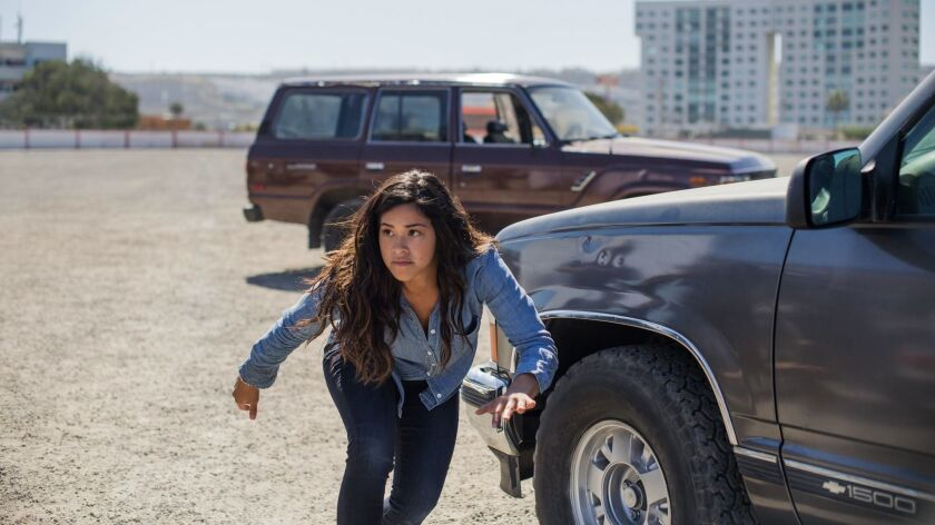 WINTER SNEAKS 2019**** Gina Rodríguez stars in MISS BALA movie