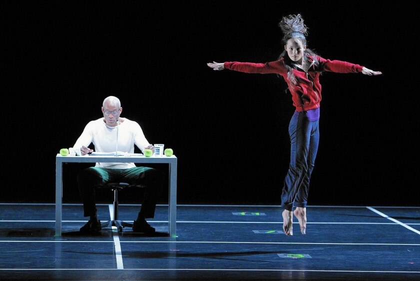 """Choreographer Bill T. Jones' """"Story/Time,"""" a homage to Merce Cunningham and John Cage."""
