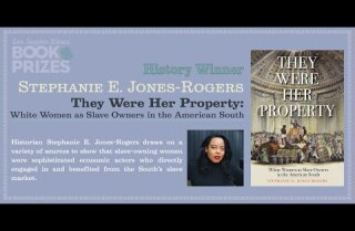 Los Angeles Times Book Prizes: Stephanie E. Jones-Rogers, History