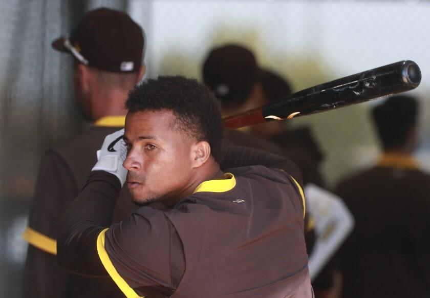 Padres' catcher Francisco Mejia