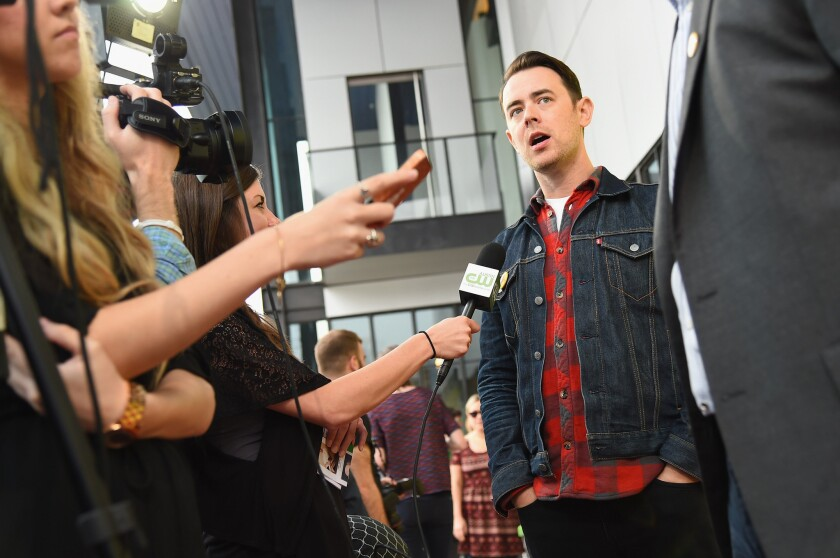 "Colin Hanks at the SXSW premiere of his documentary ""All Things Must Pass,"" on the history of Tower Records."