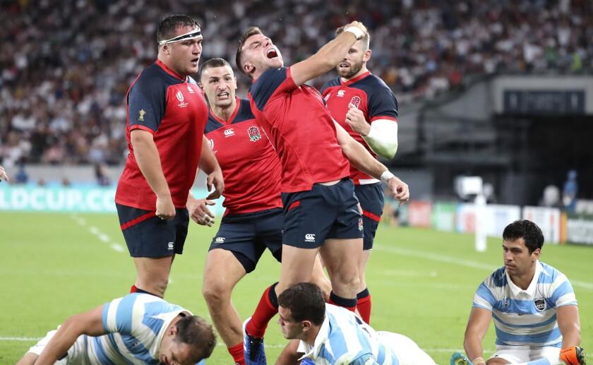 APTOPIX Japan Rugby WCup England Argentina
