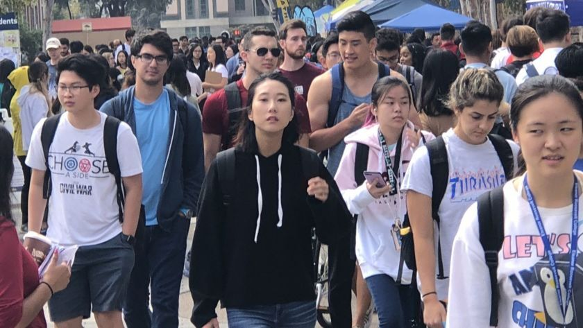 Crowded UC San Diego offers admission to record number of