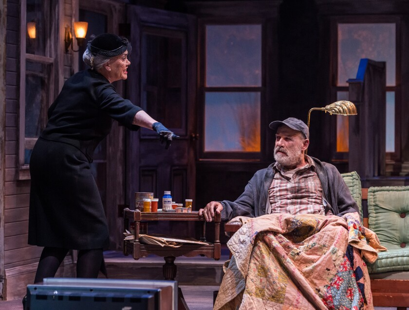 Review: In the Sam Shepard masterpiece 'Buried Child,' family ties end in knots
