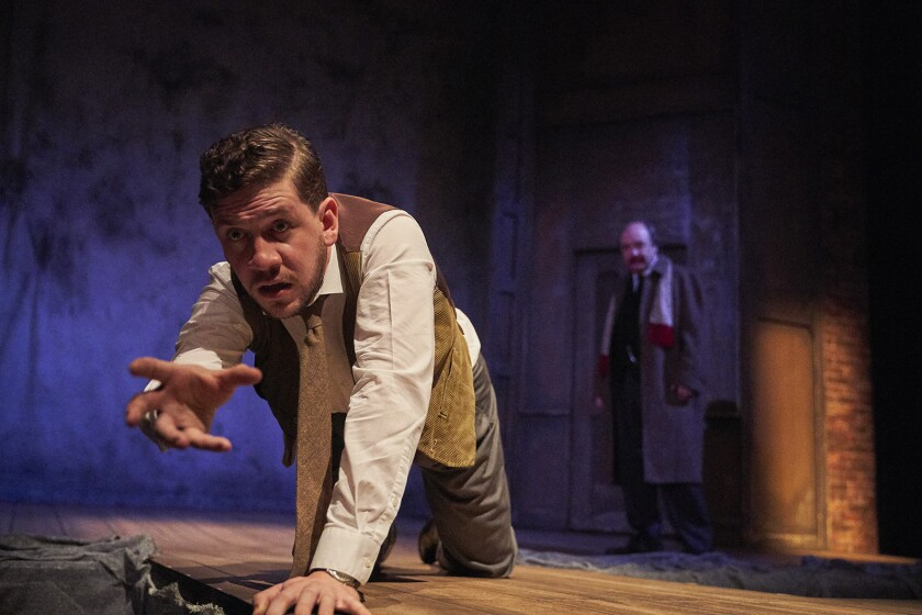 "The hit West End thriller ""The Woman in Black"" comes to Pasadena Playhouse. With Adam Wesley Brown."