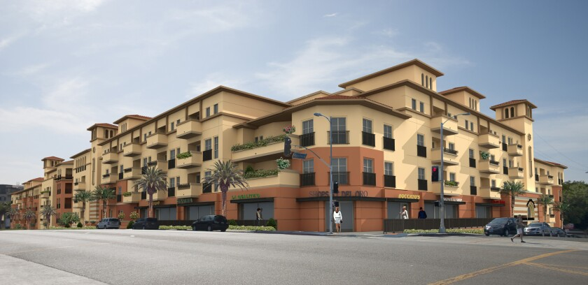 Mixed-use apartment project underway in Westchester