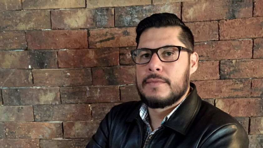 """Julio Omar Gomez, a journalist who has gone into hiding, says, """"I am broken. I am a man without a future."""""""