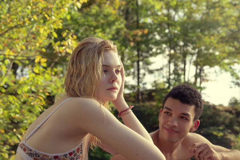 Review: 'All the Bright Places,' with Elle Fanning and Justice Smith, finds romance in darkness