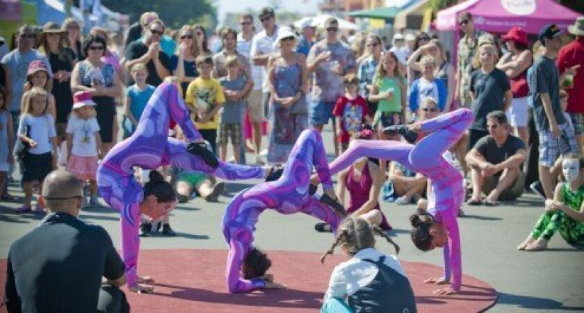 This year's festival will include roving cirque-style performances.