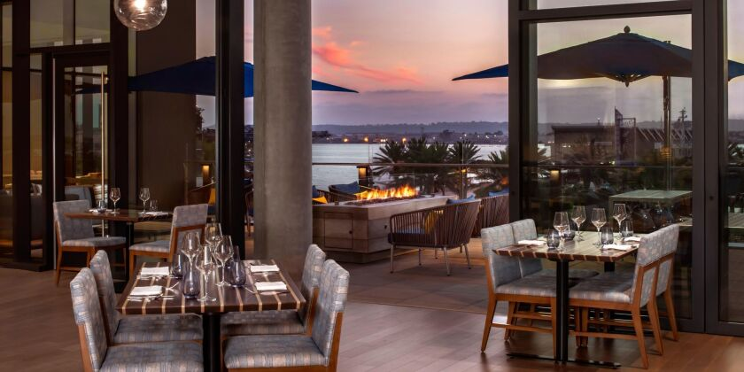 Vistal is located at the newInterContinental San Diego Hotel.