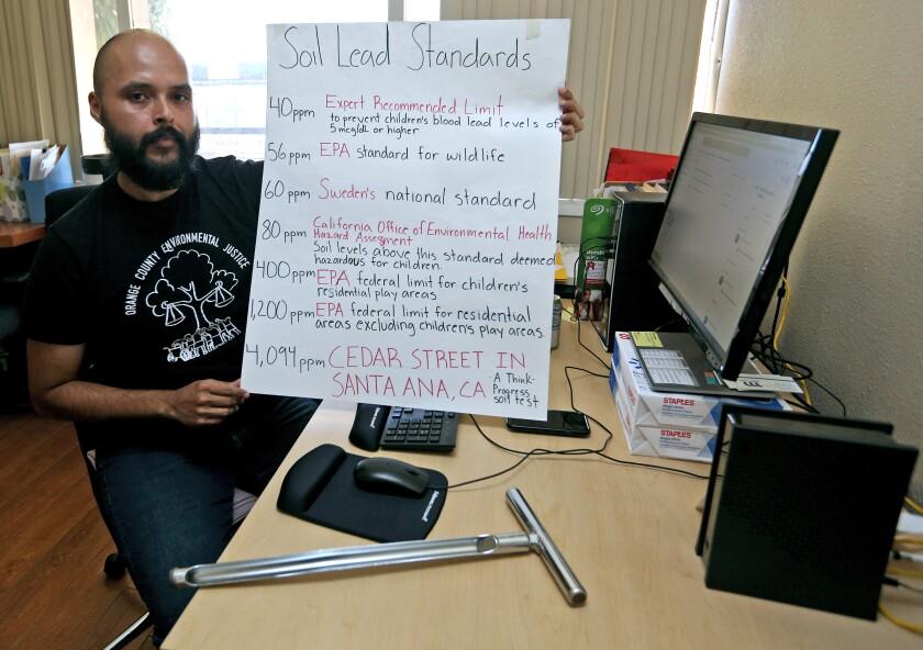 Orange County Environmental Justice project director Enrique Valencia