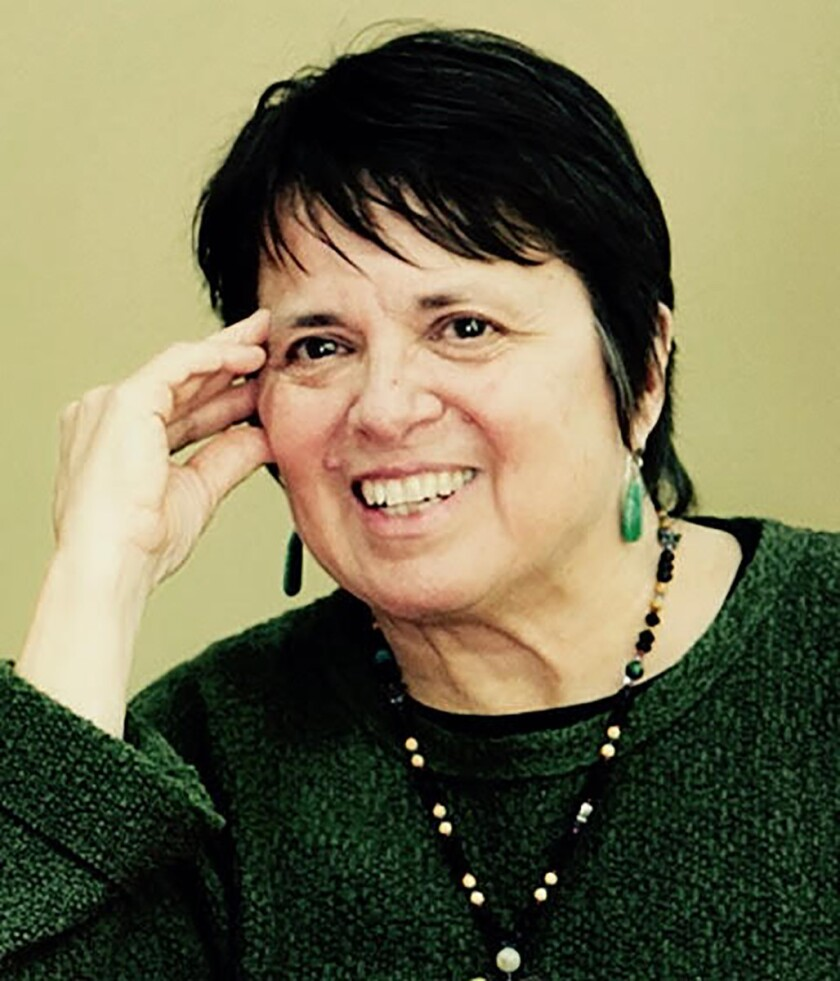 """An author photo of Cherrie Moraga for her book """"Native Country of the Heart."""" Credit: Daniella Rosse"""