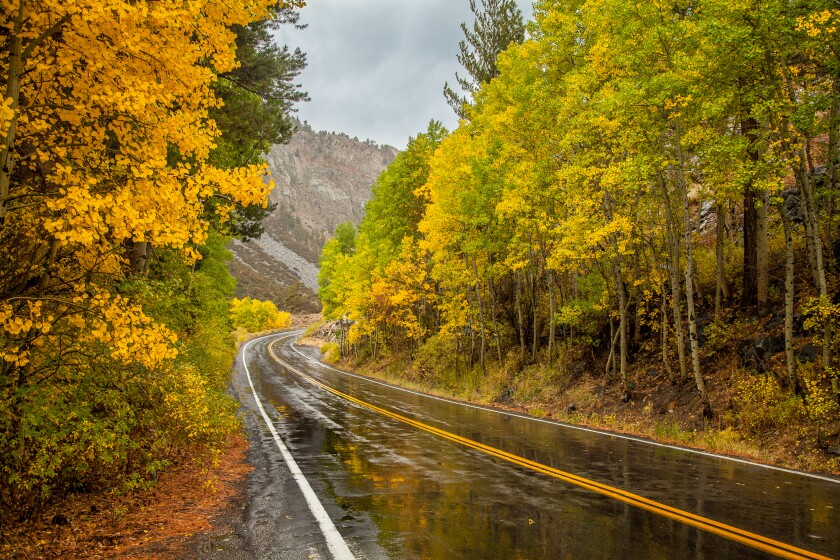Fall is a special time to visit California's Eastern Sierra, with its magical colors, mountains, lakes and creeks.