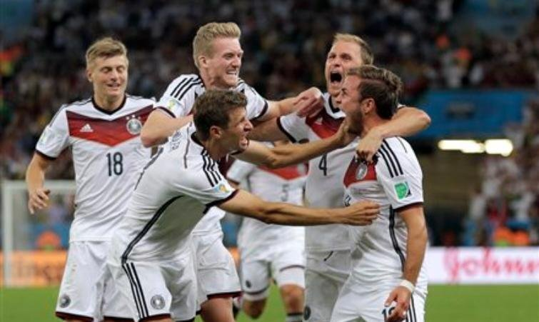 Germany wins World Cup