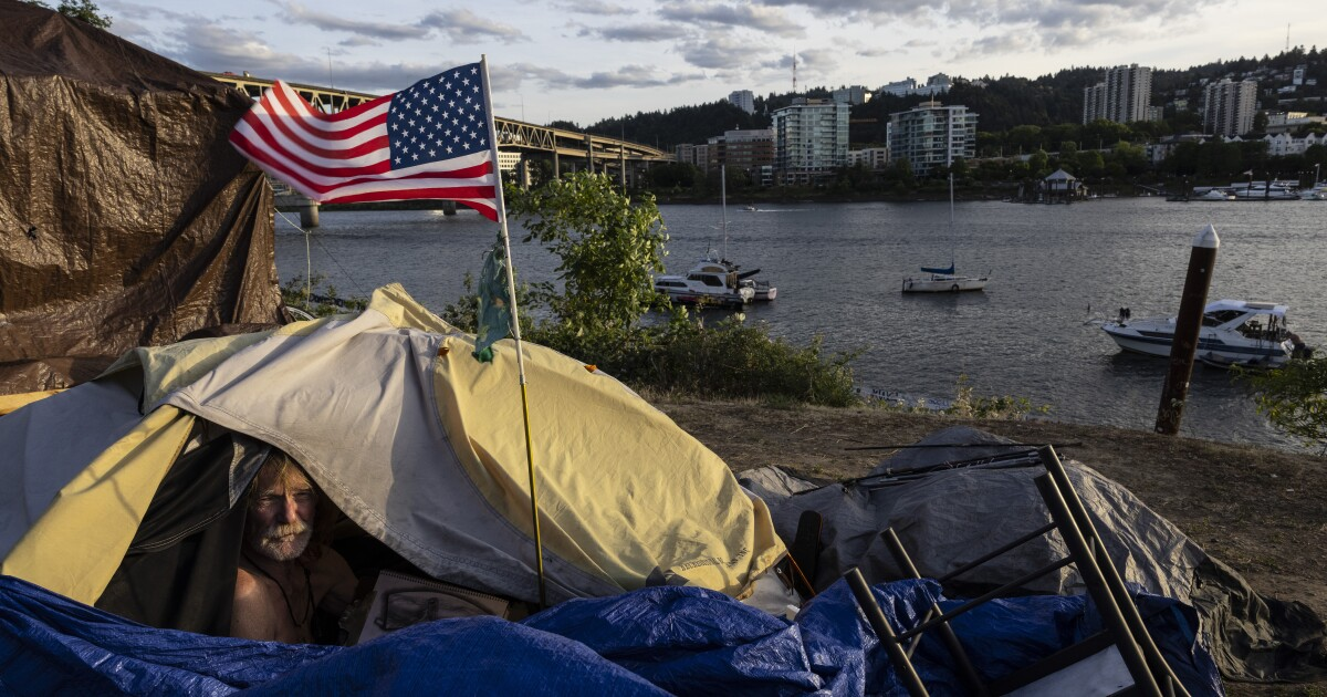 Portland bans homeless camps in forest areas amid Oregon wildfires