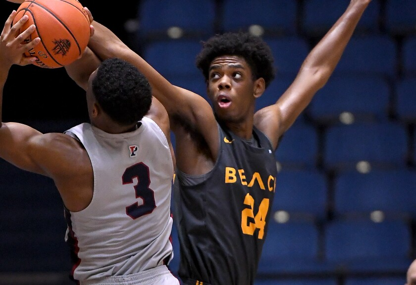 Long Beach State's Joshua Morgan announced Friday he is transferring to USC.