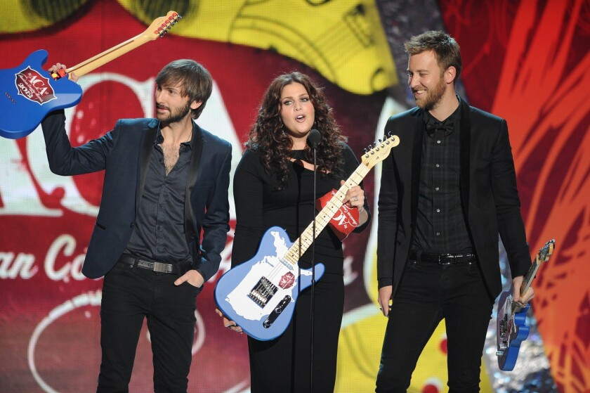 Country group Lady A, formerly Lady Antebellum.
