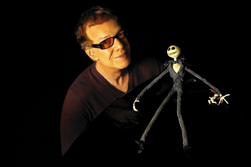 """Danny Elfman says when he was writing songs for """"The Nightmare Before Christmas"""" hero Jack Skellington, he related to the character's life goals. He'll sing the role (as he did for the film) during screenings at the Hollywood Bowl."""