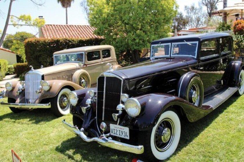 1933 Pierce-Arrow Club Sedan, 1934 Pierce-Arrow Sport Sedan