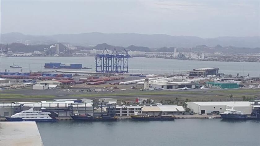 Cesan operaciones de limpieza de embarcaciones hundidas en P.Rico por huracán